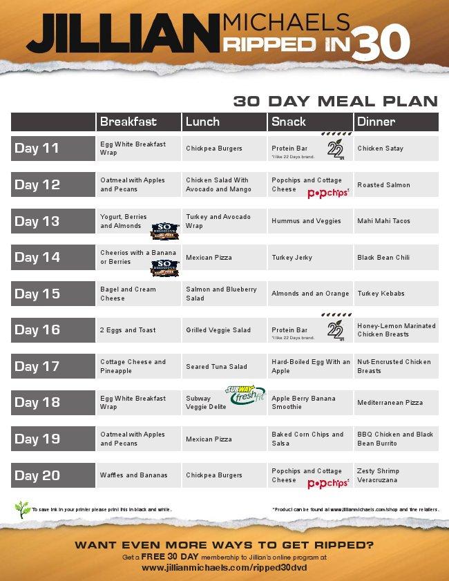 30 day shred diet plan » nyspeechcenter.com